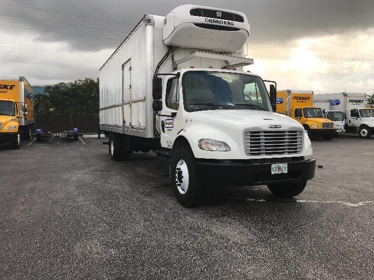 Reefer Truck-Light and Medium Duty Trucks-Freightliner-2014-M2-ORLANDO-FL-162,789 miles-$44,000