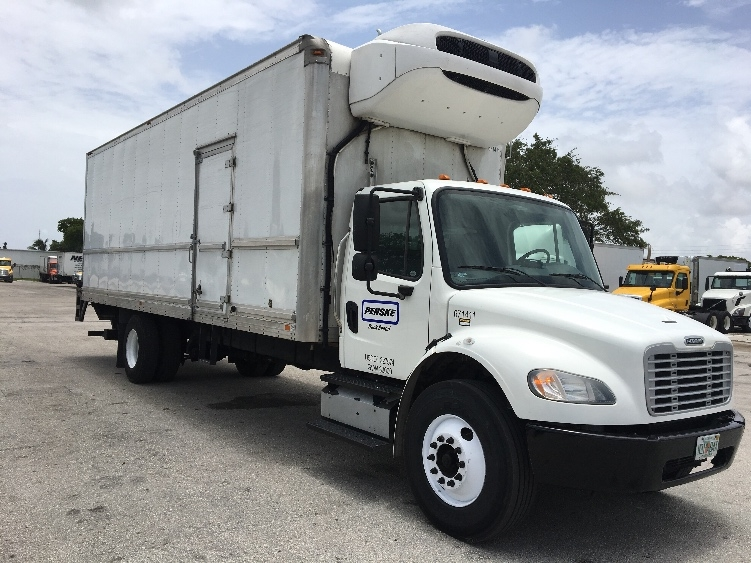 Reefer Truck-Light and Medium Duty Trucks-Freightliner-2014-M2-POMPANO BEACH-FL-157,171 miles-$44,250