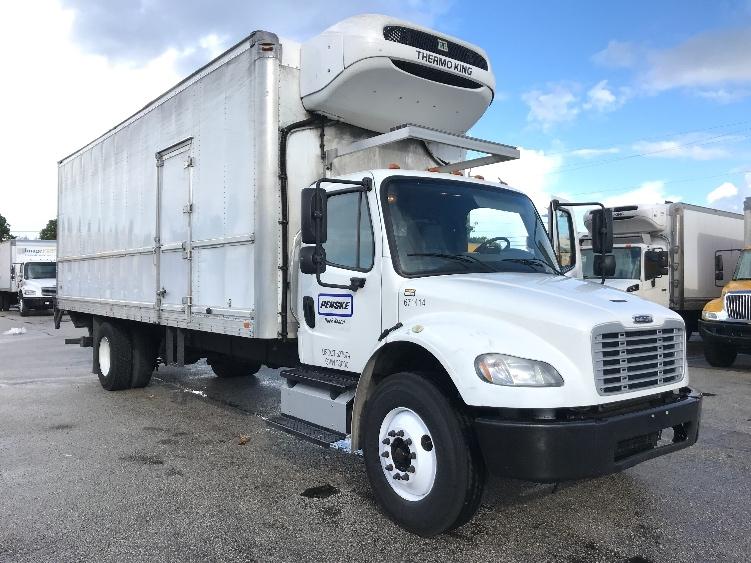 Reefer Truck-Light and Medium Duty Trucks-Freightliner-2014-M2-POMPANO BEACH-FL-161,441 miles-$40,750