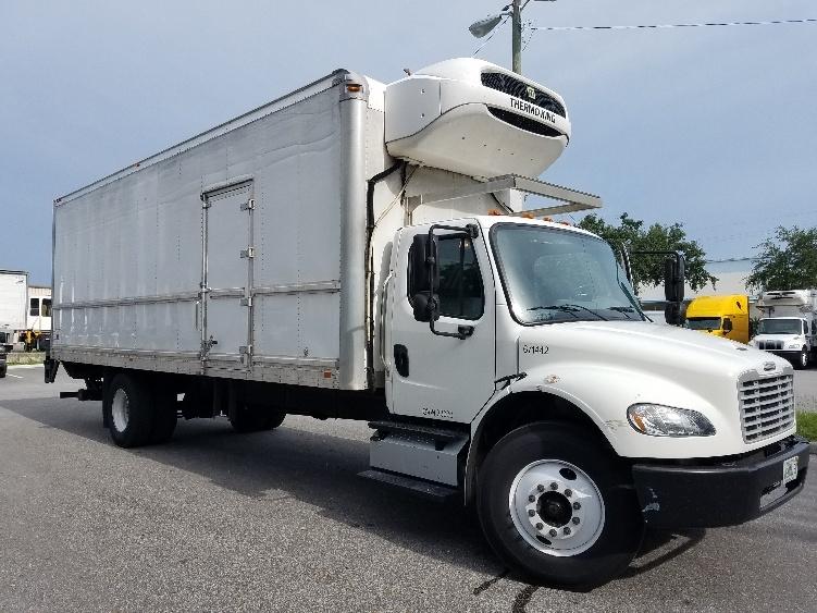 Reefer Truck-Light and Medium Duty Trucks-Freightliner-2014-M2-TAMPA-FL-159,358 miles-$49,750
