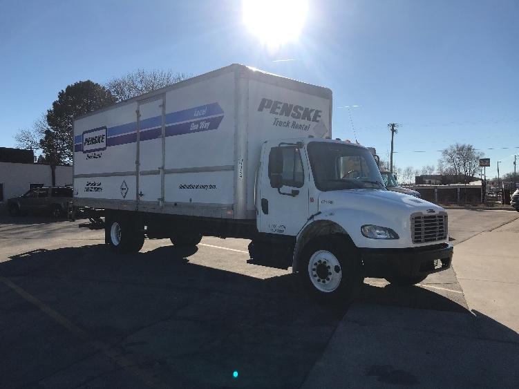 Medium Duty Box Truck-Light and Medium Duty Trucks-Freightliner-2014-M2-DES MOINES-IA-221,908 miles-$35,500