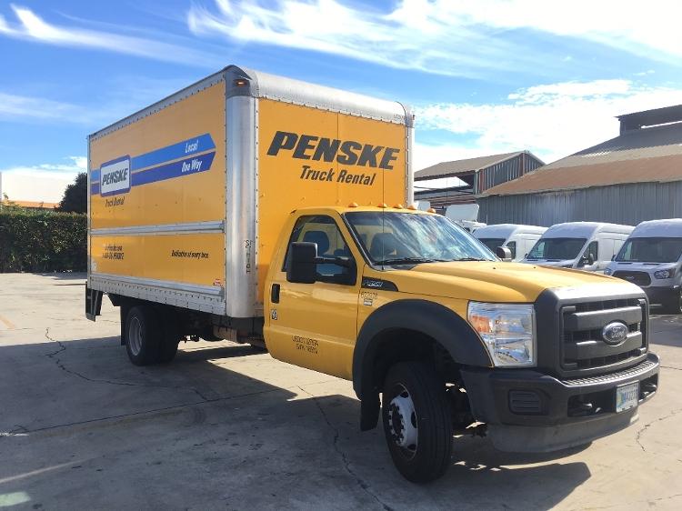 Medium Duty Box Truck-Light and Medium Duty Trucks-Ford-2013-F450-CITY OF INDUSTRY-CA-107,763 miles-$24,250