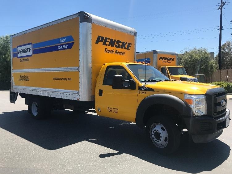 Medium Duty Box Truck-Light and Medium Duty Trucks-Ford-2013-F450-LOS ANGELES-CA-90,930 miles-$28,250