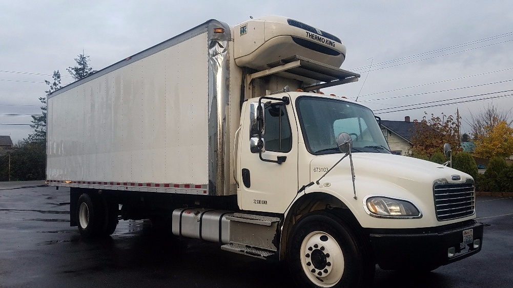 Reefer Truck-Light and Medium Duty Trucks-Freightliner-2014-M2-KENT-WA-137,010 miles-$54,750