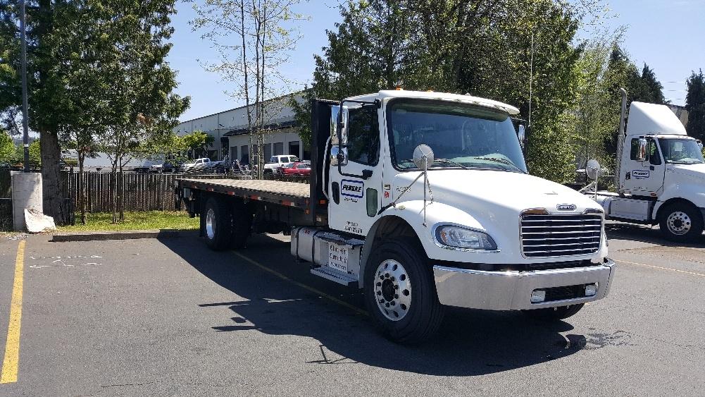 Flatbed Truck-Light and Medium Duty Trucks-Freightliner-2014-M2-WILSONVILLE-OR-140,306 miles-$44,750