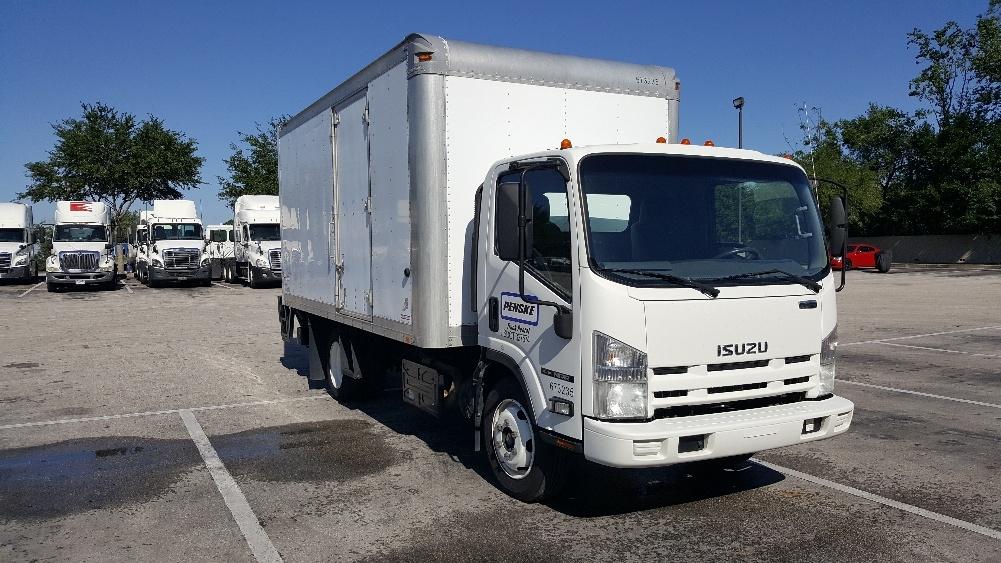 Medium Duty Box Truck-Light and Medium Duty Trucks-Isuzu-2013-NRR-TAMPA-FL-139,305 miles-$32,500