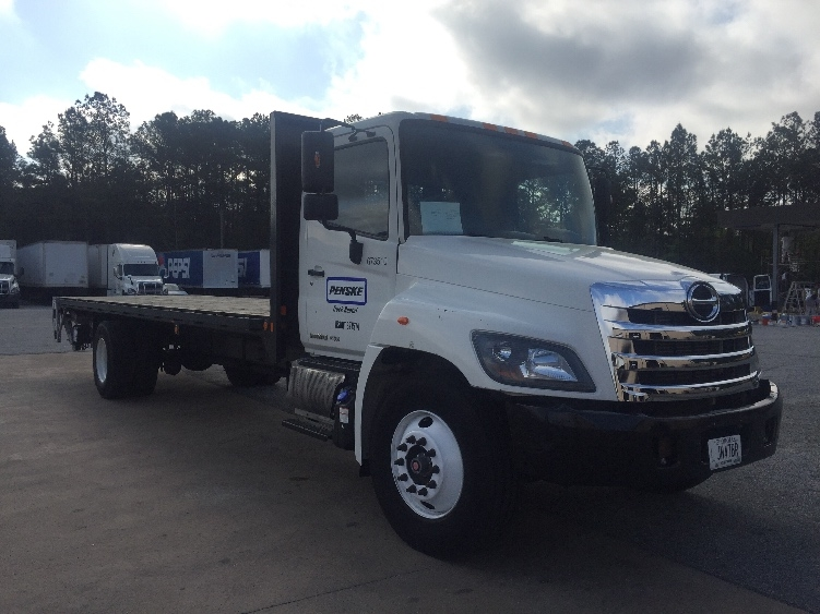 Flatbed Truck-Light and Medium Duty Trucks-Hino-2014-268-COLUMBUS-GA-67,004 miles-$53,250