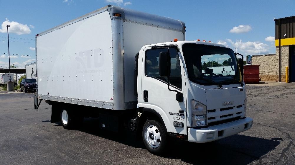Medium Duty Box Truck-Light and Medium Duty Trucks-Isuzu-2014-NPR-MILWAUKEE-WI-262,400 miles-$18,250