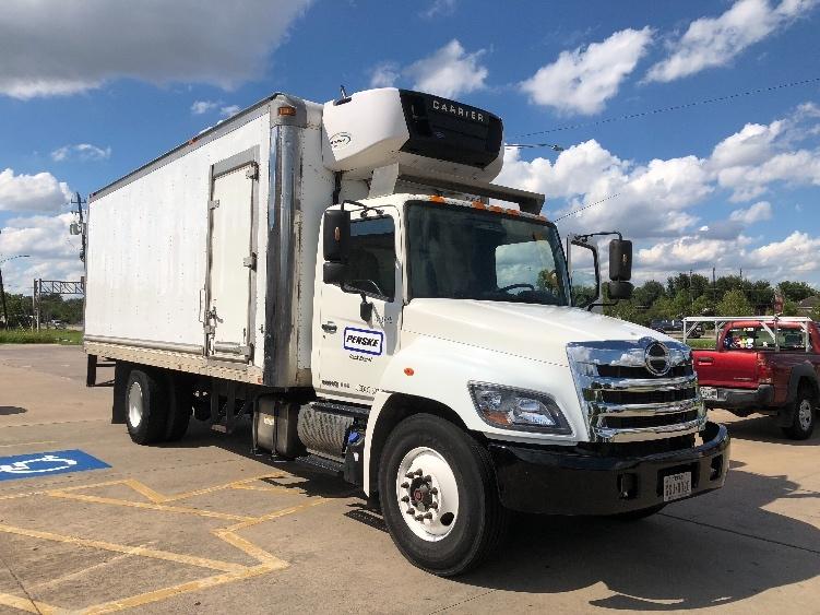 Reefer Truck-Light and Medium Duty Trucks-Hino-2014-268-HOUSTON-TX-198,175 miles-$39,500