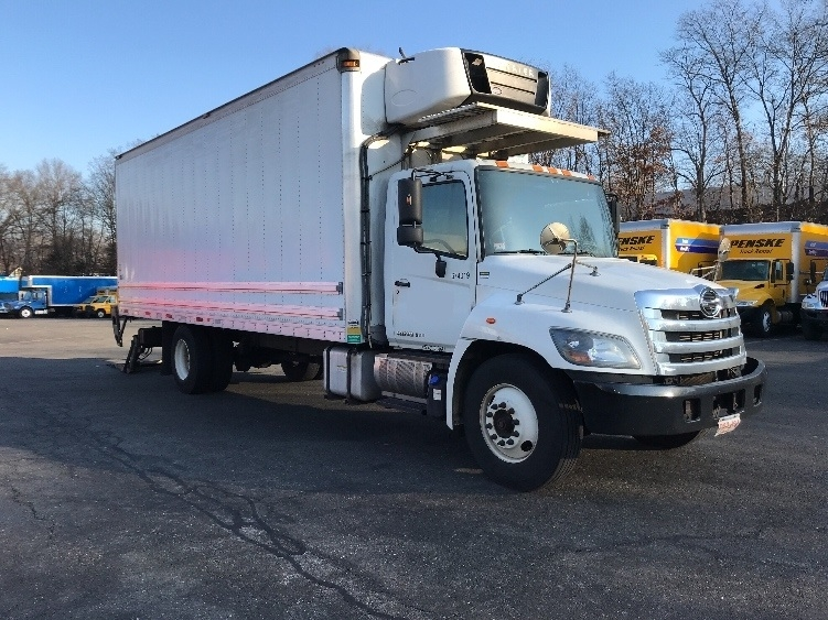 Reefer Truck-Light and Medium Duty Trucks-Hino-2014-268-LAWRENCE-MA-258,513 miles-$35,250
