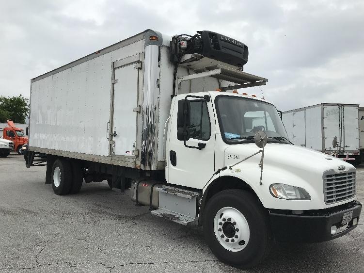 Reefer Truck-Light and Medium Duty Trucks-Freightliner-2014-M2-HOUSTON-TX-259,999 miles-$37,500