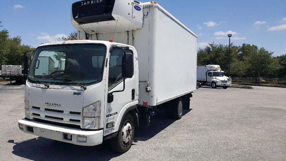Reefer Truck-Light and Medium Duty Trucks-Isuzu-2013-NRR-LAKELAND-FL-145,289 miles-$30,500
