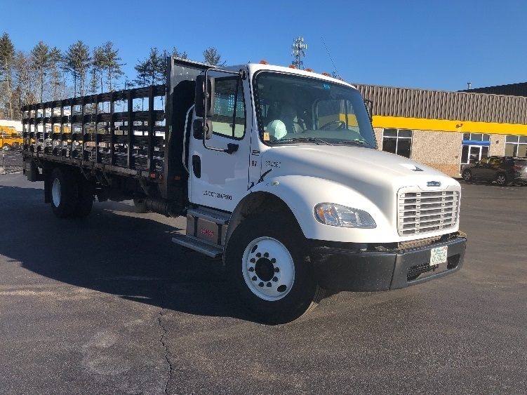 Flatbed Truck-Light and Medium Duty Trucks-Freightliner-2014-M2-HUDSON-NH-104,860 miles-$47,000