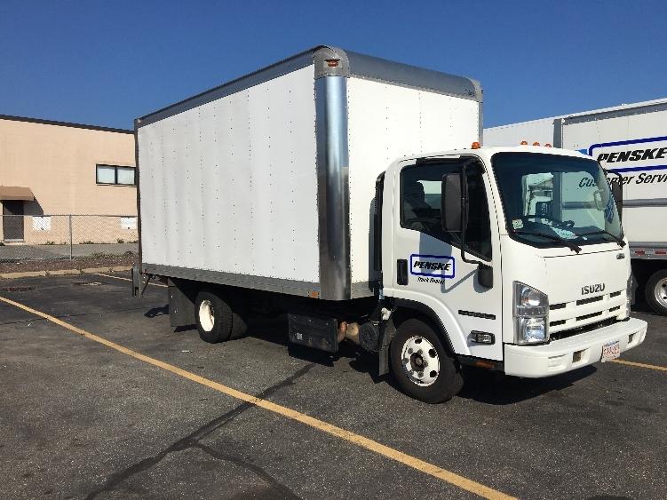 Medium Duty Box Truck-Light and Medium Duty Trucks-Isuzu-2014-NPR-MEDFORD-MA-79,797 miles-$31,250