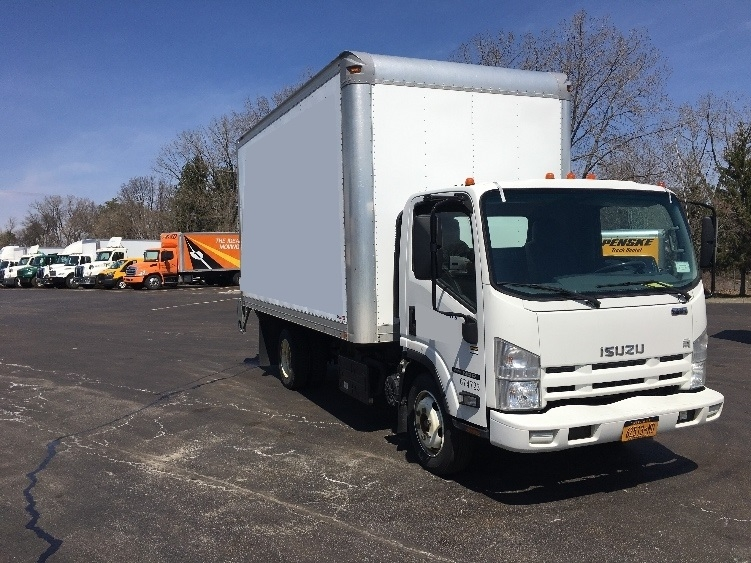 Medium Duty Box Truck-Light and Medium Duty Trucks-Isuzu-2014-NQR-ALBANY-NY-166,498 miles-$26,500