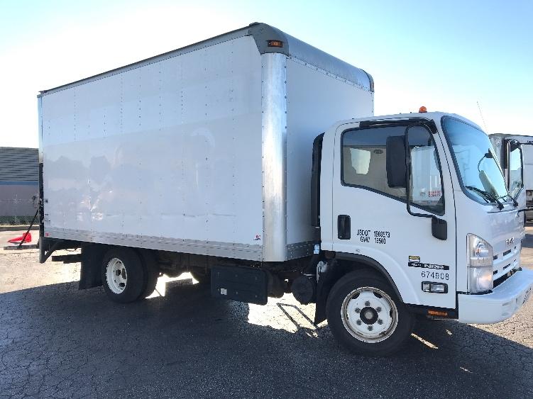 Medium Duty Box Truck-Light and Medium Duty Trucks-Isuzu-2014-NRR-EARTH CITY-MO-171,211 miles-$23,500