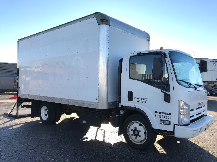 Medium Duty Box Truck-Light and Medium Duty Trucks-Isuzu-2014-NRR-EARTH CITY-MO-165,491 miles-$26,250