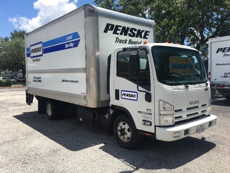 Medium Duty Box Truck-Light and Medium Duty Trucks-Isuzu-2014-NPR-FOREST PARK-GA-125,499 miles-$33,500