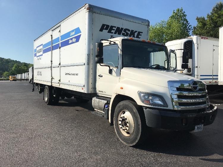 Medium Duty Box Truck-Light and Medium Duty Trucks-Hino-2014-268-ATLANTA-GA-139,327 miles-$50,750
