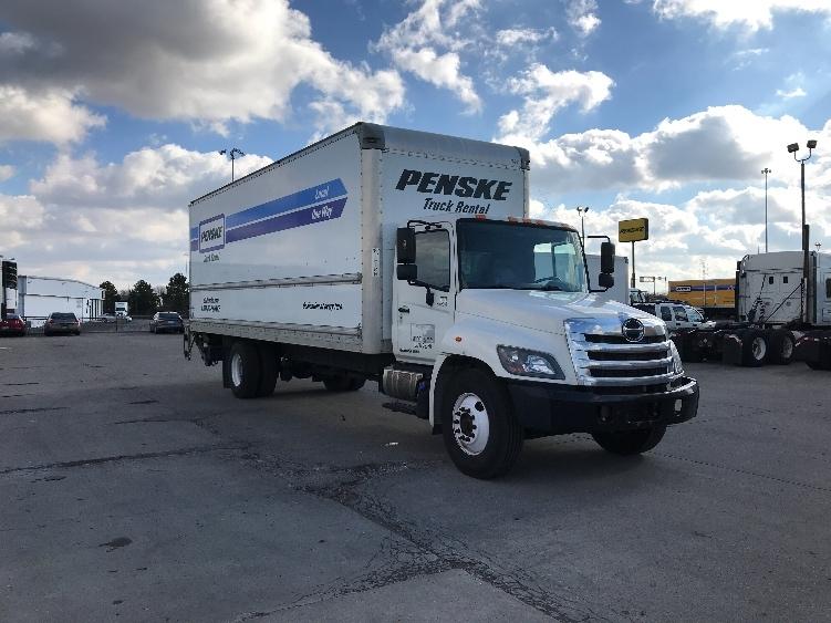 Medium Duty Box Truck-Light and Medium Duty Trucks-Hino-2014-268-COLUMBUS-OH-125,597 miles-$43,500