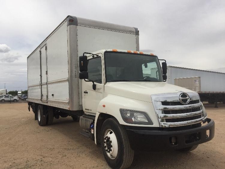 Medium Duty Box Truck-Light and Medium Duty Trucks-Hino-2014-268-PHOENIX-AZ-104,986 miles-$53,000