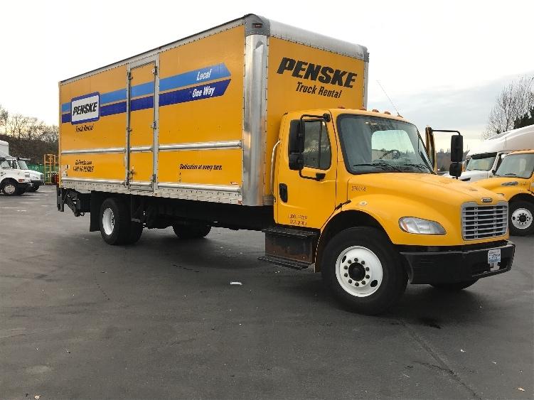 Medium Duty Box Truck-Light and Medium Duty Trucks-Freightliner-2014-M2-TUKWILA-WA-104,457 miles-$49,000
