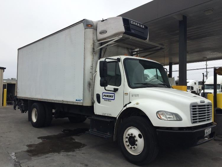 Reefer Truck-Light and Medium Duty Trucks-Freightliner-2014-M2-GARLAND-TX-209,638 miles-$40,250