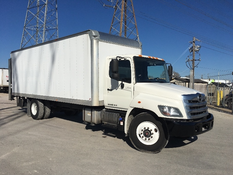 Medium Duty Box Truck-Light and Medium Duty Trucks-Hino-2014-268-HOUSTON-TX-105,620 miles-$48,000