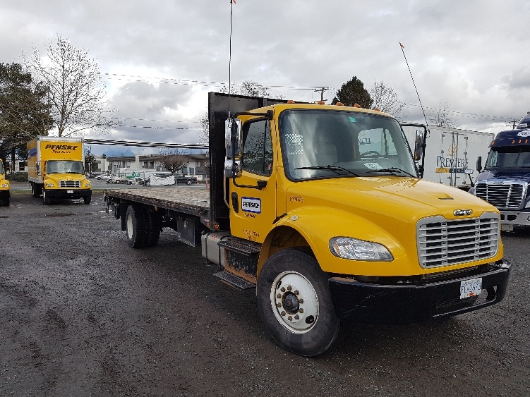 Flatbed Truck-Specialized Equipment-Freightliner-2014-M2-SURREY-BC-60,876 km-$64,750