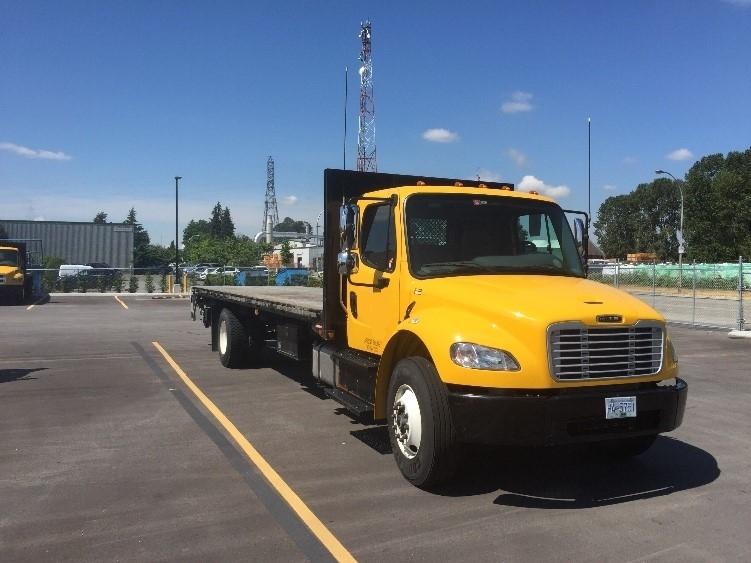 Flatbed Truck-Light and Medium Duty Trucks-Freightliner-2014-M2-SURREY-BC-52,496 km-$65,750