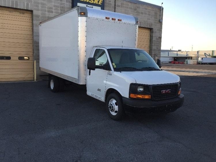 Light Duty Box Truck-Light and Medium Duty Trucks-GMC-2014-Savana G33903-MEDFORD-OR-139,484 miles-$21,500