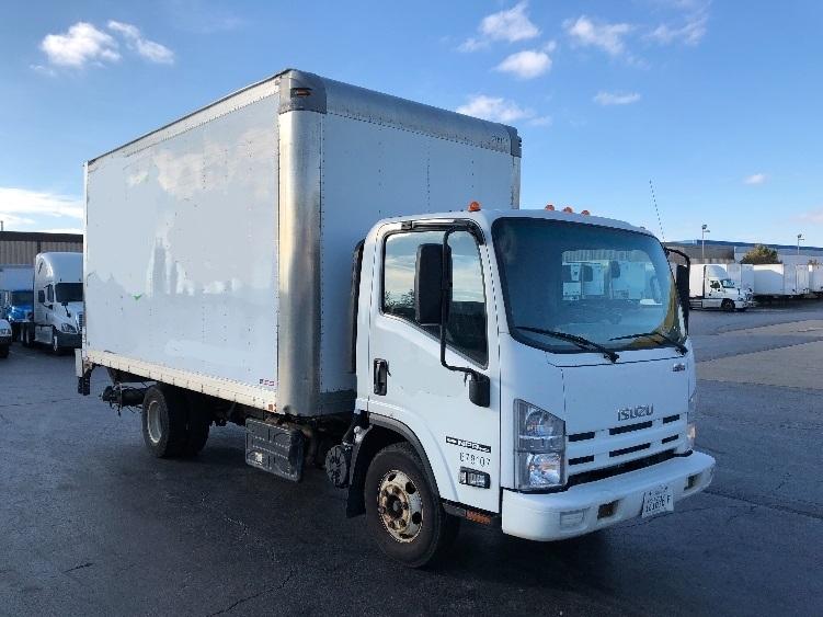 Medium Duty Box Truck-Light and Medium Duty Trucks-Isuzu-2014-NPR-ELK GROVE VILLAGE-IL-95,658 miles-$34,500