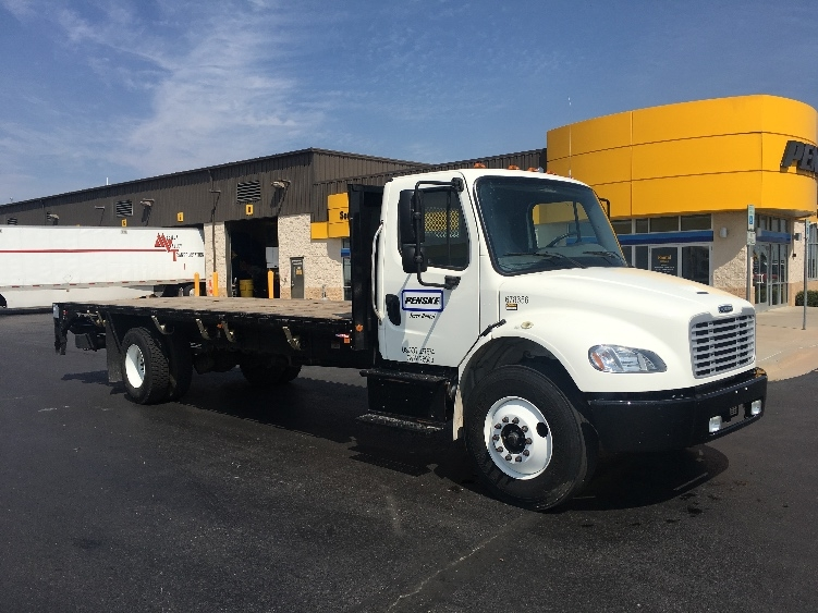 Flatbed Truck-Specialized Equipment-Freightliner-2014-M2-OKLAHOMA CITY-OK-22,436 miles-$60,250