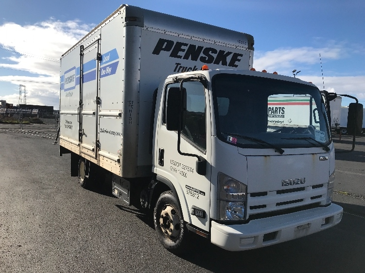 Medium Duty Box Truck-Light and Medium Duty Trucks-Isuzu-2014-NPR-TORRANCE-CA-50,651 miles-$32,500