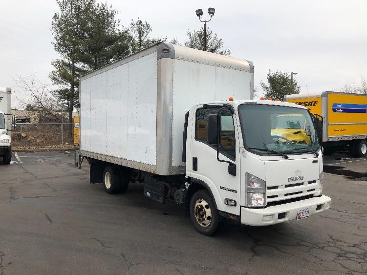 Medium Duty Box Truck-Light and Medium Duty Trucks-Isuzu-2014-NPR-ESSEX-MD-129,487 miles-$24,750
