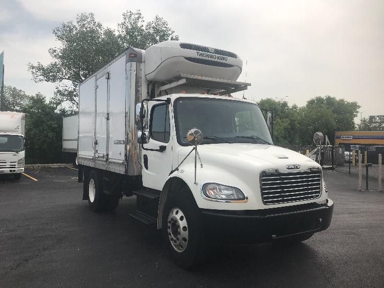 Reefer Truck-Light and Medium Duty Trucks-Freightliner-2014-M2-CHICAGO RIDGE-IL-122,941 miles-$41,250