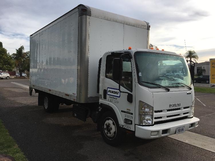 Medium Duty Box Truck-Light and Medium Duty Trucks-Isuzu-2014-NQR-TORRANCE-CA-86,804 miles-$45,500