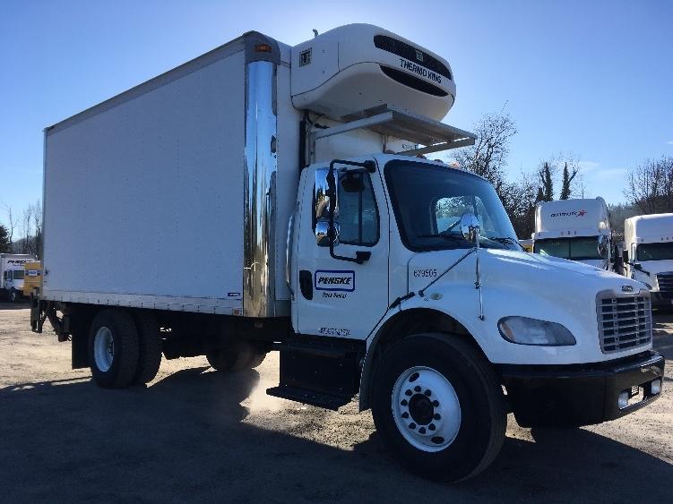 Reefer Truck-Light and Medium Duty Trucks-Freightliner-2014-M2-SPRINGFIELD-OR-23,683 miles-$61,000