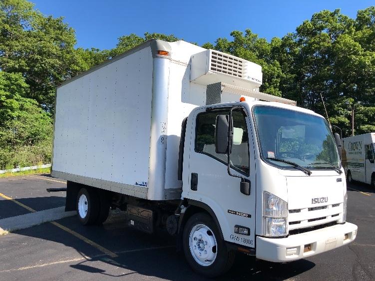 Reefer Truck-Light and Medium Duty Trucks-Isuzu-2014-NQR-BRAINTREE-MA-122,308 miles-$27,750