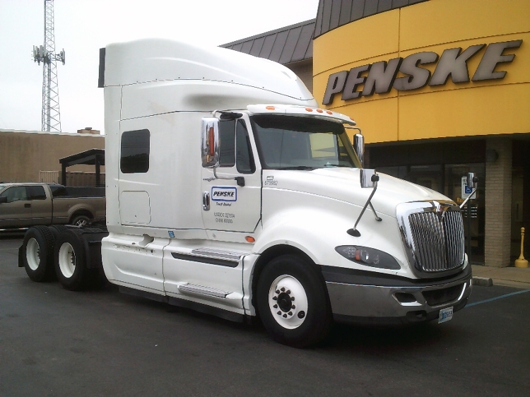 Sleeper Tractor-Heavy Duty Tractors-International-2014-ProStar-MEMPHIS-TN-566,631 miles-$40,000