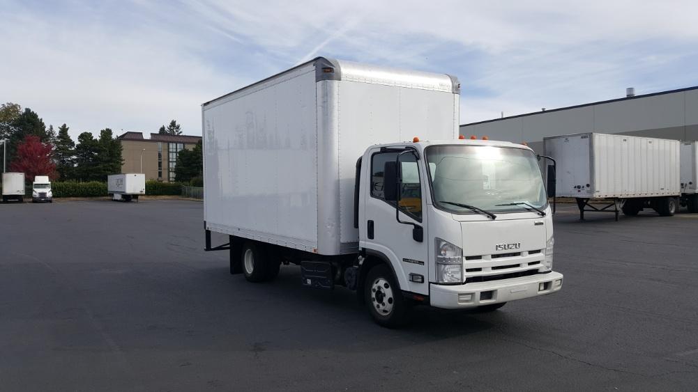 Medium Duty Box Truck-Light and Medium Duty Trucks-Isuzu-2014-NPR-WILSONVILLE-OR-80,920 miles-$38,000