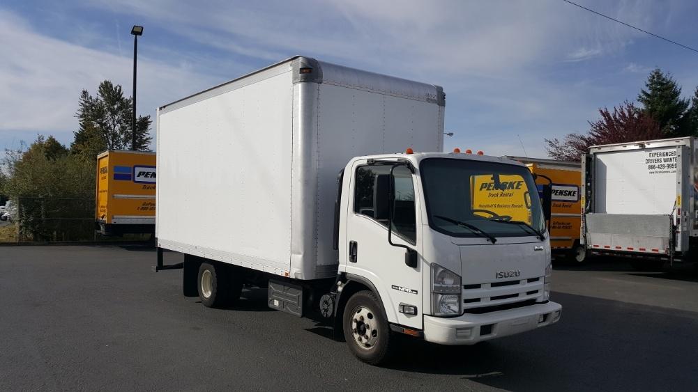 Medium Duty Box Truck-Light and Medium Duty Trucks-Isuzu-2014-NPR-WILSONVILLE-OR-148,928 miles-$29,750