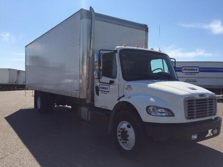 Medium Duty Box Truck-Light and Medium Duty Trucks-Freightliner-2014-M2-ROSEVILLE-MN-77,752 miles-$52,750