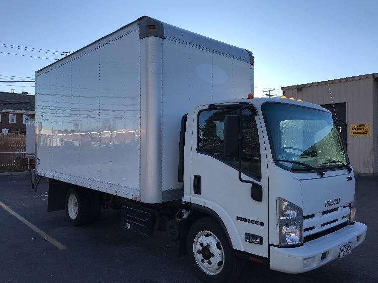 Medium Duty Box Truck-Light and Medium Duty Trucks-Isuzu-2014-NQR-MEDFORD-MA-164,663 miles-$25,250
