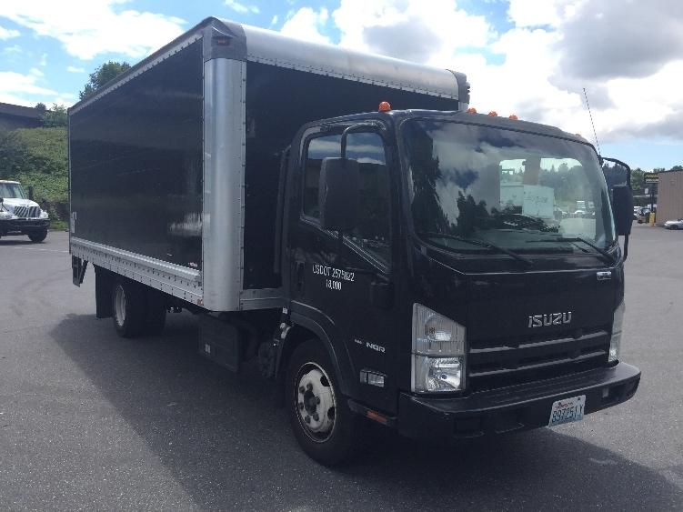 Medium Duty Box Truck-Light and Medium Duty Trucks-Isuzu-2014-NQR-TUKWILA-WA-58,543 miles-$40,750