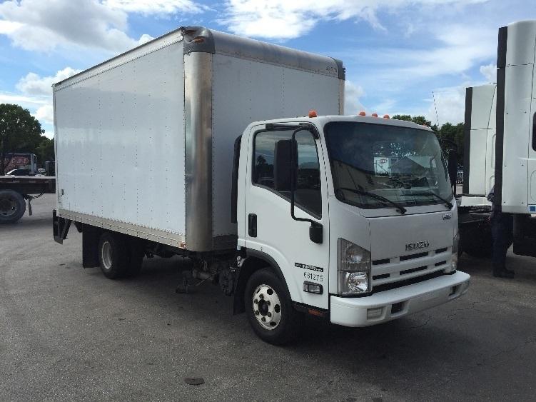 Medium Duty Box Truck-Light and Medium Duty Trucks-Isuzu-2014-NPR-MEDLEY-FL-84,277 miles-$30,500