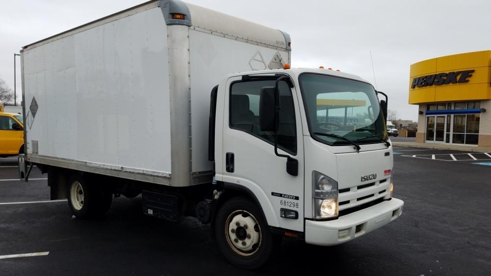 Medium Duty Box Truck-Light and Medium Duty Trucks-Isuzu-2014-NRR-WEST HAVEN-CT-184,565 miles-$26,500
