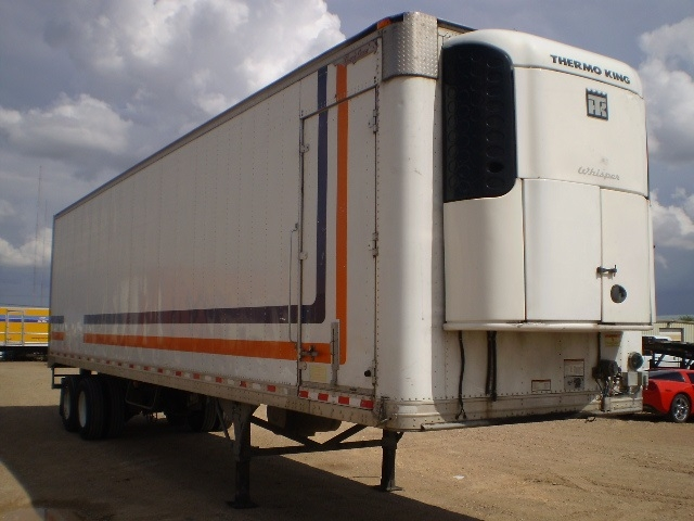 Reefer Trailer-Semi Trailers-Great Dane-2008-Trailer-LUBBOCK-TX-610,718 miles-$13,500