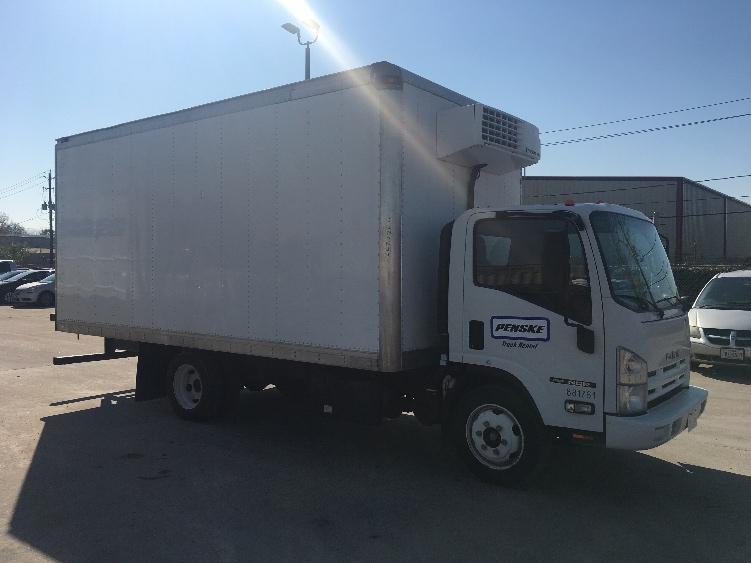 Reefer Truck-Light and Medium Duty Trucks-Isuzu-2014-NQR-HOUSTON-TX-90,752 miles-$45,750