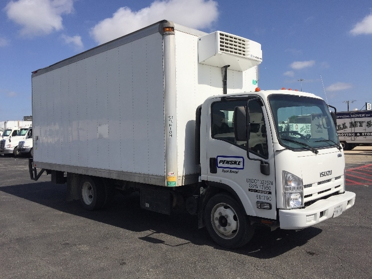 Reefer Truck-Light and Medium Duty Trucks-Isuzu-2014-NQR-SAN ANTONIO-TX-28,810 miles-$49,250